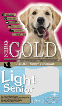 NERO GOLD Light and Senior Turkey & Rice 18/8 (Низкокалорийный: индейка и рис) 12 кг