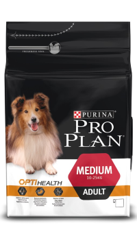 PRO PLAN MEDIUM ADULT с комплексом OPTIHEALTH, курица