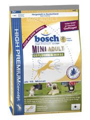 Bosch Mini Adult Poultry&Millet (Бош Мини Эдалт Птица/Просо)