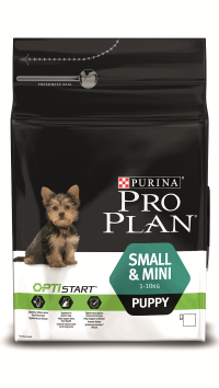 PRO PLAN SMALL & MINI PUPPY с комплексом OPTISTART, курица