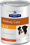 Hill's Prescription Diet™ k/d™ Canine with Chicken с курицей, лечение почек, ж/б 370гр