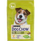 Dog Chow Adult Small Breed Chicken для взрослых собак мелких пород, курица