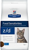 Hill's Prescription Diet™ Feline z/d™ для лечения аллергии 2кг