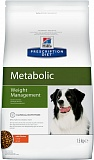 Hills Prescription Diet™ Metabolic Canine Original Курица, коррекция веса