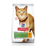 Hill's Science Plan™ Feline Adult 7+ Youthful Vitality Chicken with Rice, для кошек с 7 лет, курица с рисом
